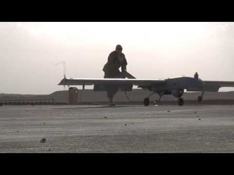 MilitarySkynet.com - FOB Lagman Soldiers Prepare an Unmanned Aircraft System for Flight