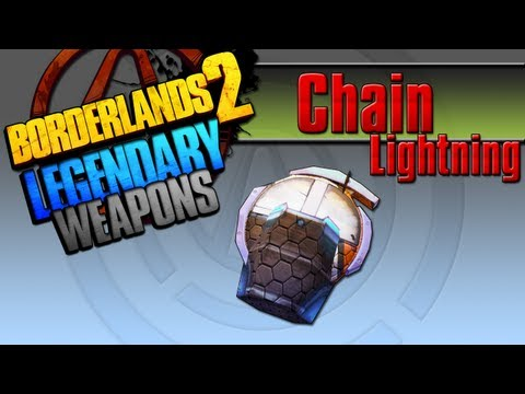 BORDERLANDS 2 | *Chain Lightning* Legendary Weapons Guide (TINY TINAS ASSAULT ON DRAGON KEEP DLC)