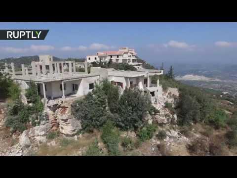 С высоты птичьего полета: разрушенный боевиками сирийский город Кинсабба