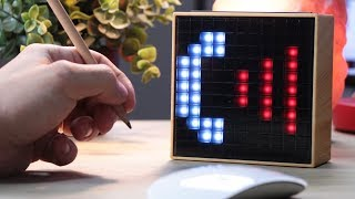 Utanmasa Sizin Yerinize Okula Bile Gidebilecek Her İşi Yapan İlginç Kutu: Divoom Timebox