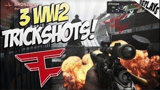 HE HIT BACK TO BACK GAMES! (3 Trickshots) - WW2 SND Trickshotting!