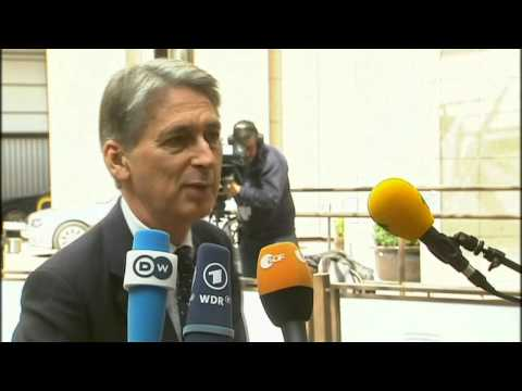 EU Foreign Ministers Meeting on Iraq & Ukraine - Philip HAMMOND, UK