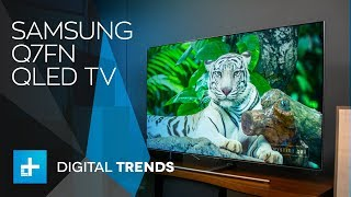 Samsung Q7FN QLED TV - Hands On Review