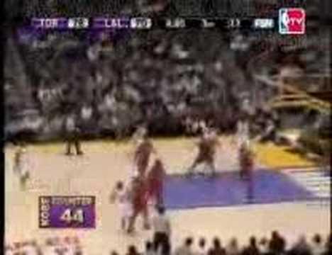 Kobe Bryant 81 Point Game Morris Peterson Lamar Odom Chris Bos.
