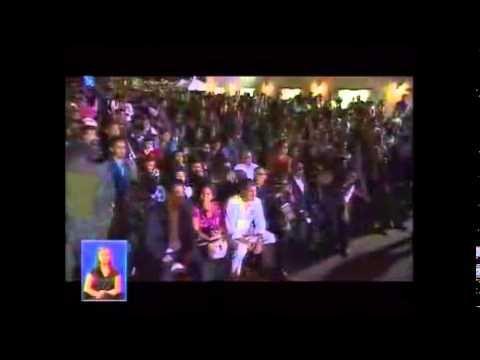 Comentarios del Presidente Rafael Correa sobre el Espectaculo 8 Años de Revolución Ciudadana.