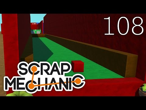 Scrap Mechanic [#108] Mapa Golf by Onor (Mapa Widza)