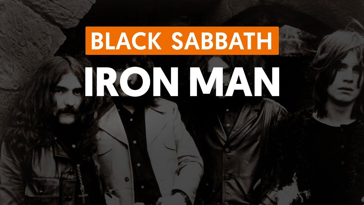 Black Iron Iron Man Black Sabbath Aula