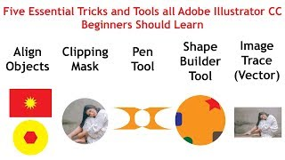 Five Essential Tricks and Tools All Adobe Illustrator Beginners Should Learn
