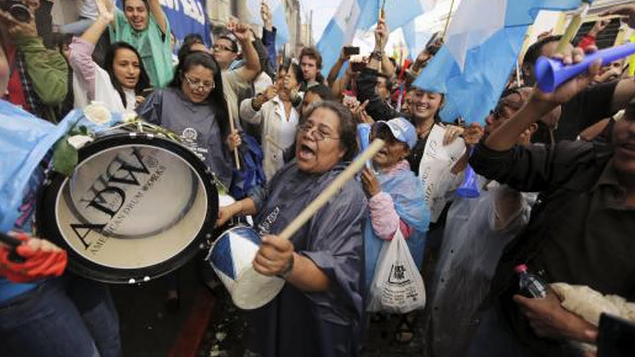 Is Guatemala's President Going to Jail? Legislature Strips Perez Molina of Immunity After Protests