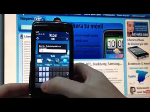 Liberar Blackberry 9860 Torch. desbloquear Blackberry 9860 Torch de Movistar    Movical Net
