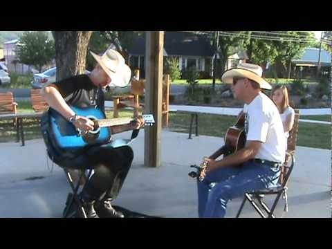 David singing you are my flower - Another video in the park in Mountain View, Arkansas.