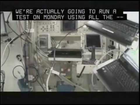 Mike Fincke: Tour of the ISS 1/4
