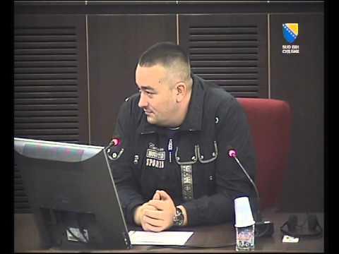 Suđenje Turković - svjedok tužilaštva Dragan Perišić - Bejbi
