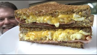 Devilled Egg Bacon and Cheese Toastie - Greg's Kitchen