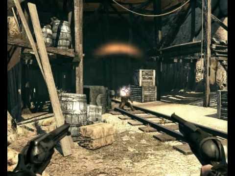 Call of Juarez Bound in Blood gameplay видеорецензия ЛКИ