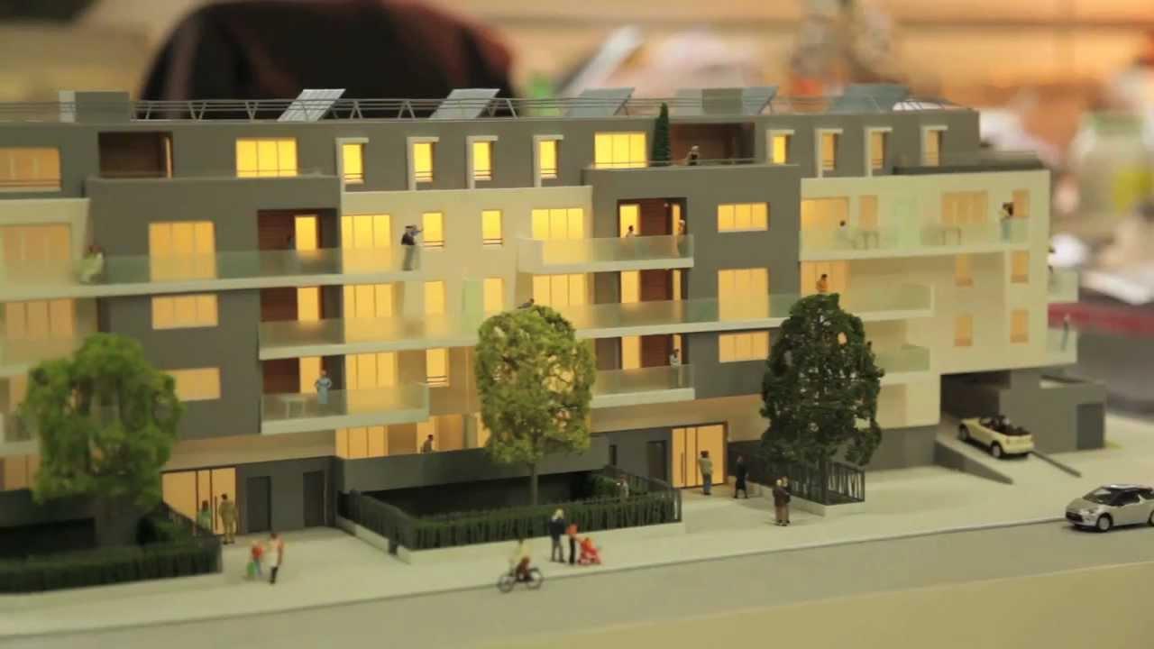 R alisation d 39 une maquette d 39 architecture youtube for Maquette d architecture