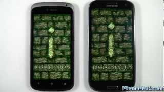 HTC One S vs. Samsung Galaxy S3 - Boot Up, App Speed, and Browser Tests