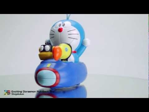 """Doraemon ドラえもん: Nobita and the Island of Miracles"" Exciting Doraemon Pull-Back Toy thumbnail"