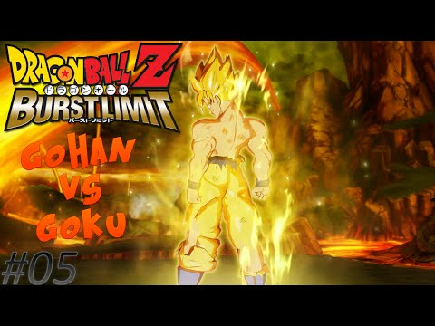 Dragon Ball Z Burst Limit - #05 - Goku é Ginyu e Ginyu é Goku?