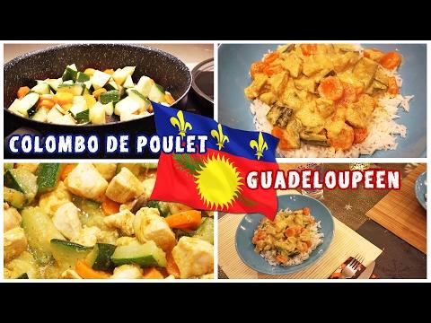 Colombo de poulet à la guadeloupéenne - recette ◈ SIDJIE