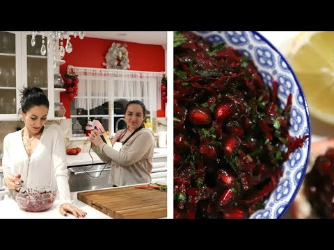 Beetroot Pomegranate Salad Recipe - Heghineh Cooking Show