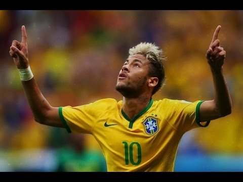 Neymar Jr All Skills & Goals in World Cup 2014 [HD]