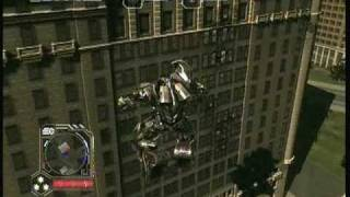 transformers 2 multiplayer gameplay (MEGATRON)
