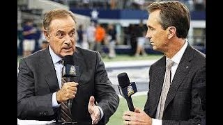 AL MICHAELS AND CRIS COLLINSWORTH TAKE ISSUE WITH NFL PLAYERS KNEELING FOR THE ANTHEM!