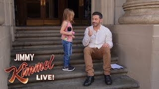Kimmel Kidversations - Do You Know Who Donald Trump Is?
