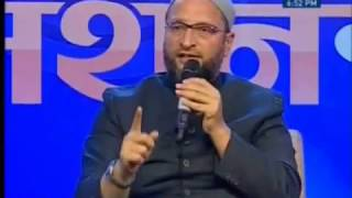 Money Manthan : Asaduddin Owaisi And Vedanti Maharaj ( Part 1 )