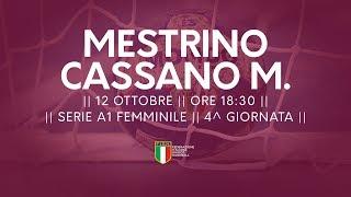 Serie A1F [4^]: Mestrino - Cassano Magnago 31-29