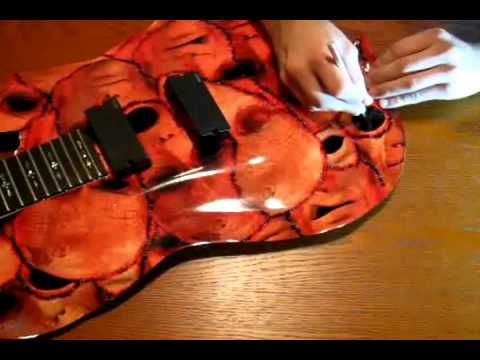 Guitar Skin Application Video