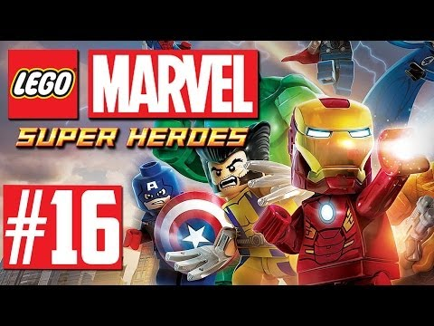 LEGO Marvel Super Heroes - Let's Play #16 - Ein Haus mit X
