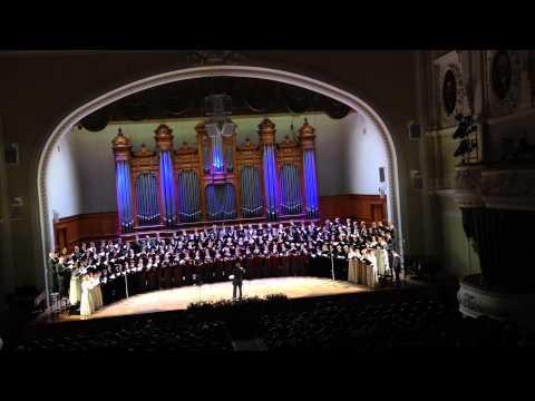 богородица дева радуйся Рахманинов в исполнении хора 160 человек