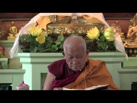 23 Aryadeva's 400 Stanzas on the Middle Way with Geshe Yeshe Thabkhe 09-04-14