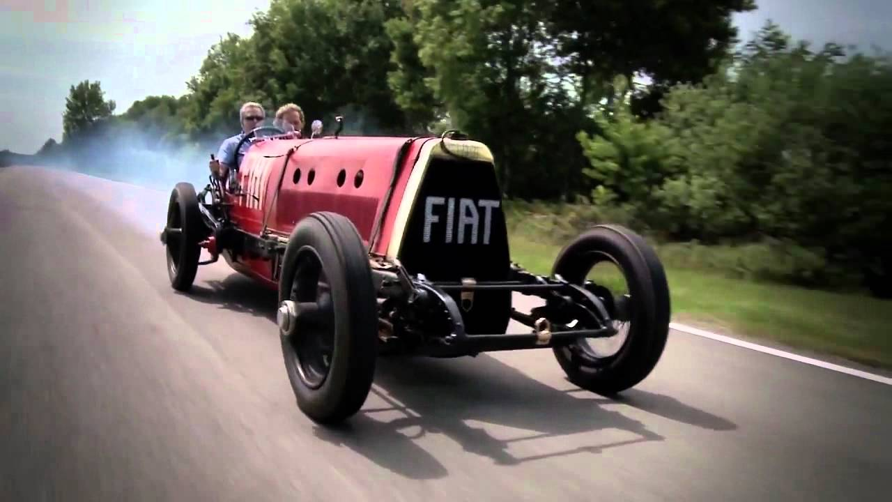 Fiat Mefistofele Meets Fiat 500 Twinair Hd Youtube