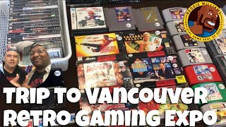 Trip to Vancouver retro gaming Expo 2019 (with game pick ups)