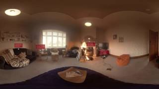 Experience a real house fire through 360 video | Escape My House