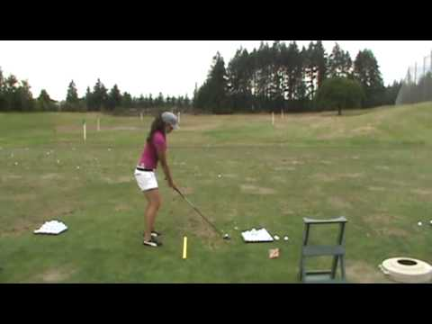 courtney coleman golf swing Video