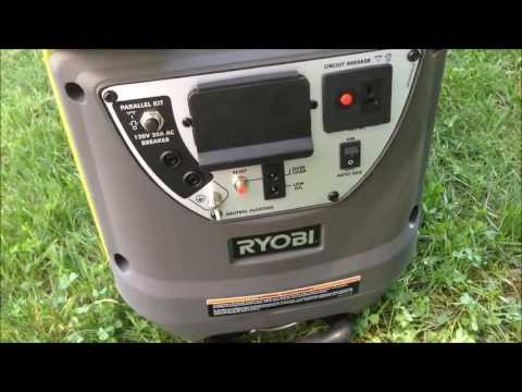 Ryobi 2200 Starting Watt Digital Inverter Generator Review