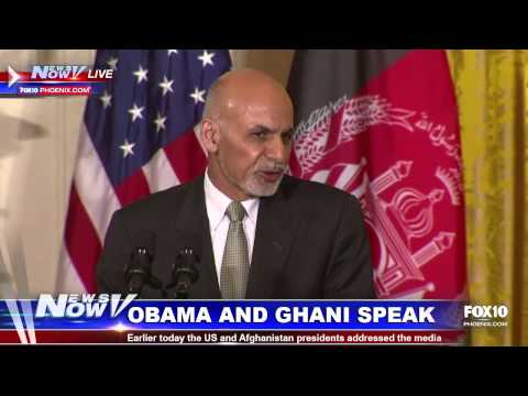 FNN: President Obama and Afghanistan President Ashraf Ghani Speak to Media