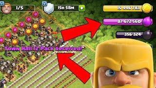 87 MILLION!?  TH12 Farm to Max Live Stream | Clash of Clans