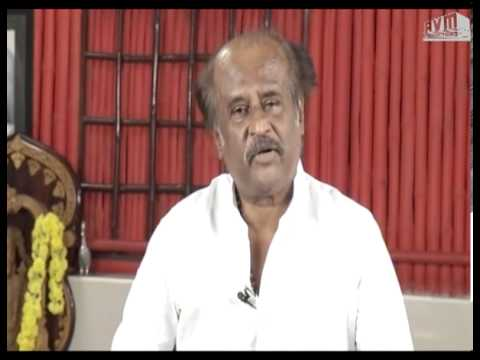 Superstar Rajinikanth speaks about Sivaji - The Boss (3D)