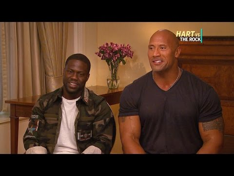 EXCLUSIVE: Why Dwayne Johnson and Kevin Hart Could Be Hollywood's Next Great Comedy Team