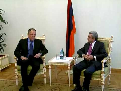Serzh Sargsyans meeting with Sergey Lavrov