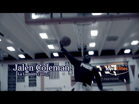 Jalen Coleman (2015) Junior Year Highlights with La Lumiere
