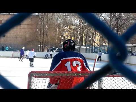 Дворовой хоккей Владивостока. Бриз - Ярость (7 января 2017 года)