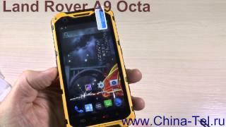 Land Rover A9 Octa Core rugged smartphone