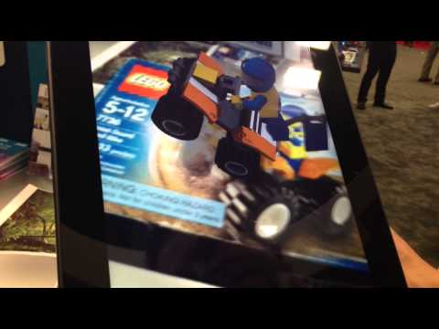 metaio show off some awesome augmented reality technology at GDC 2013