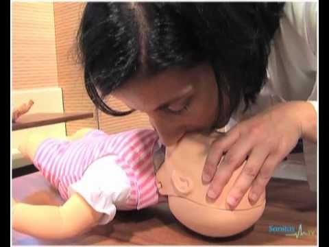 Vídeo de reanimación cardiopulmonar para bebés